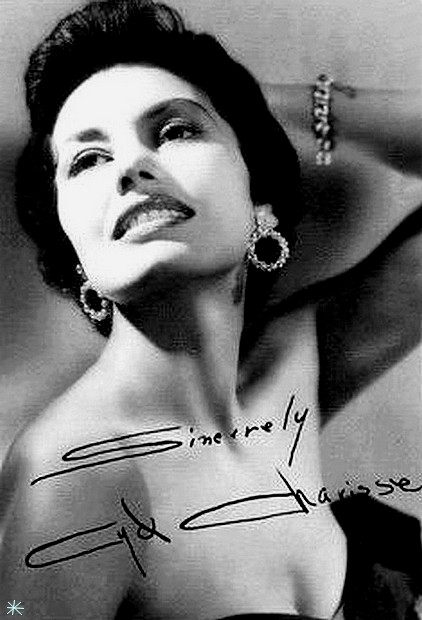 photo Cyd Charisse telechargement gratuit
