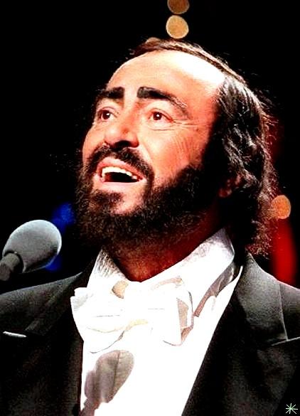 photo Luciano Pavarotti telechargement gratuit