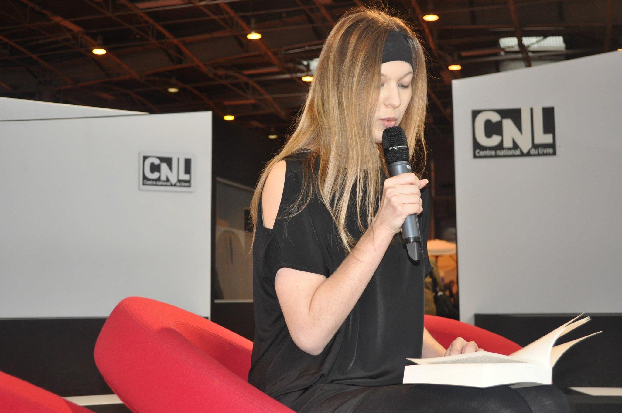 photo Lecture public Salon du Livre de Paris telechargement gratuit