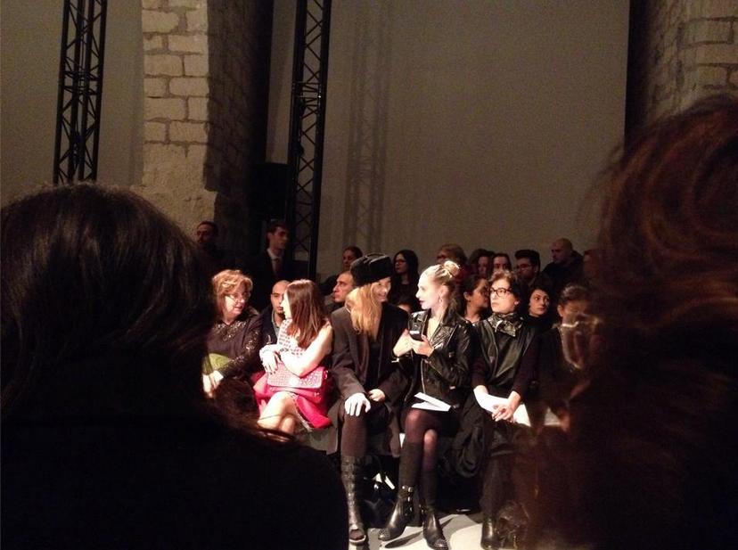 photo Melissa Mourer Ordener Fashion Week Paris Front Row telechargement gratuit
