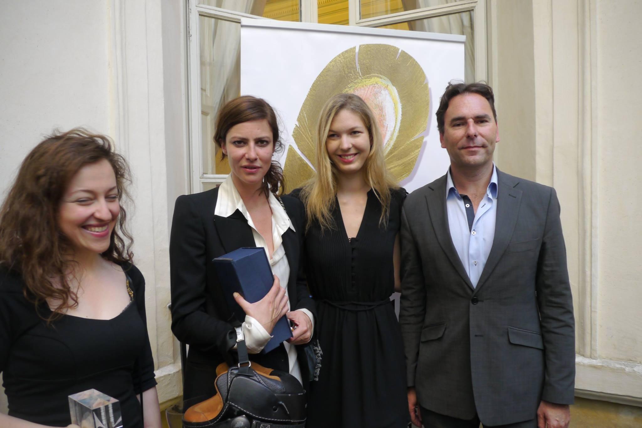 photo Muses and actresses Guila Clara Kessous, Anna Mouglalis, Melissa Mourer Ordener & Christophe Rioux attend 5th Grand Prix du Livre Audio telechargement gratuit