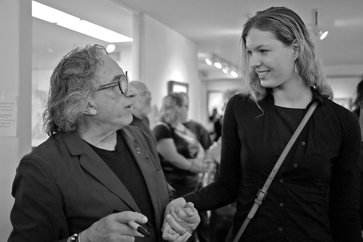photo Artist and muse Melissa Mourer Ordener with photographer Joel-Peter Witkin telechargement gratuit