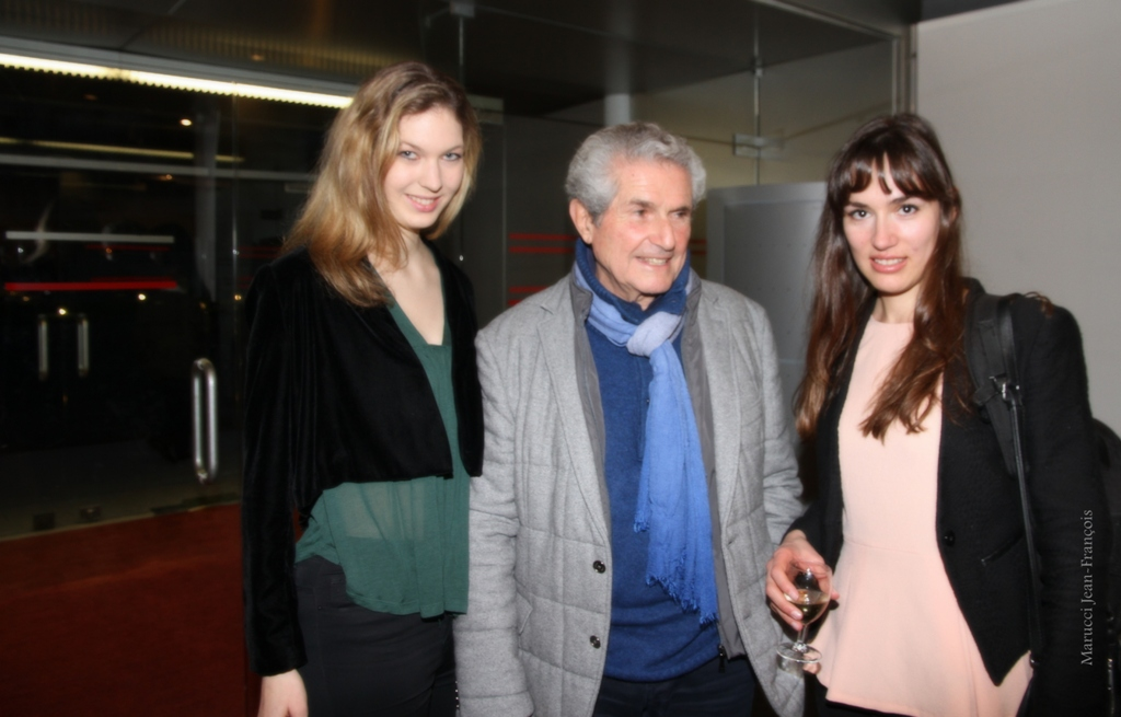 photo Melissa Mourer Ordener & Claude Lelouch at UNESCO telechargement gratuit
