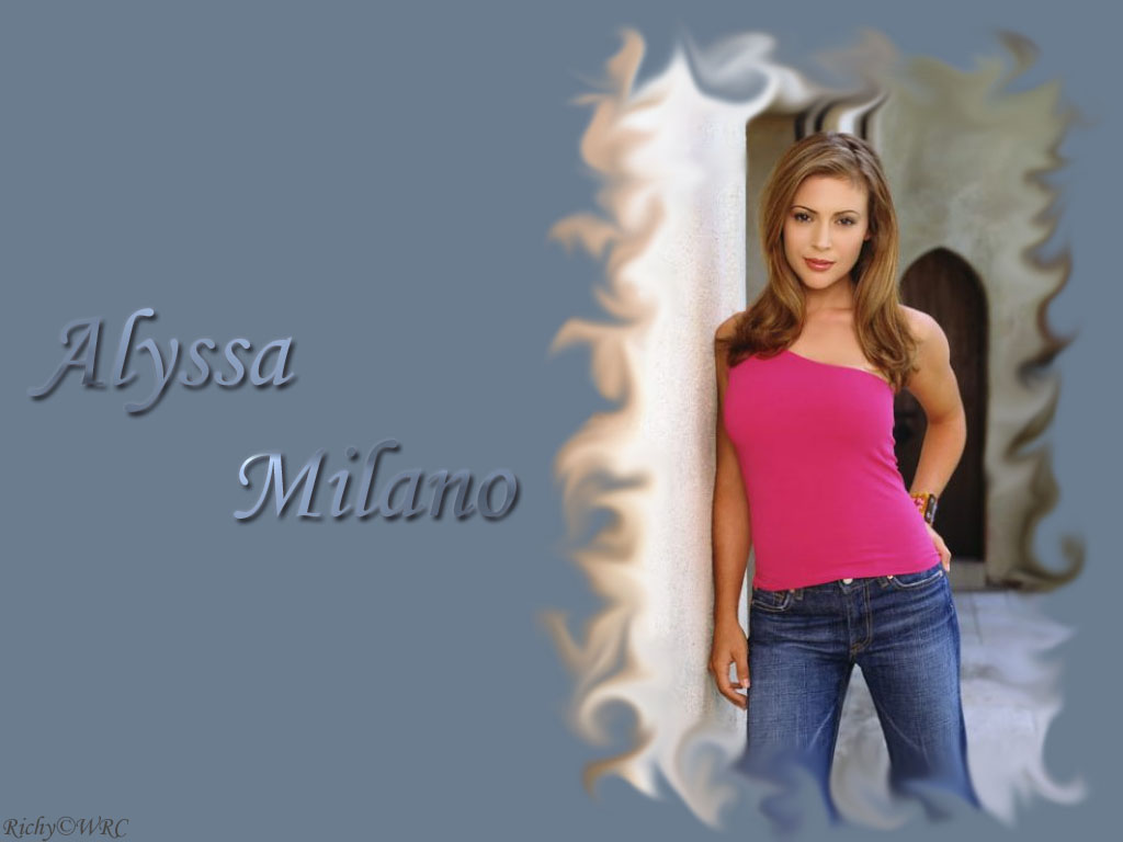 wallpaper Alyssa Milano telechargement gratuit