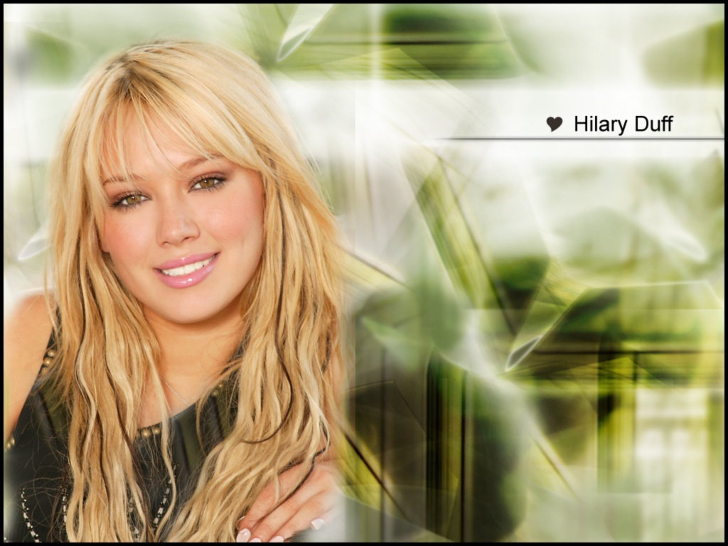 wallpaper Hilary Duff telechargement gratuit