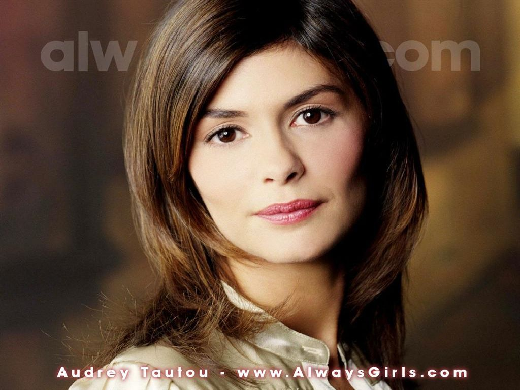 wallpaper Audrey Tautou telechargement gratuit
