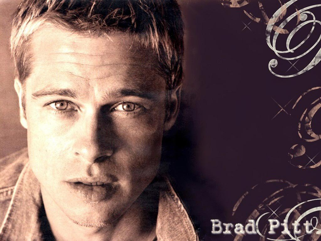 wallpaper Brad Pitt telechargement gratuit