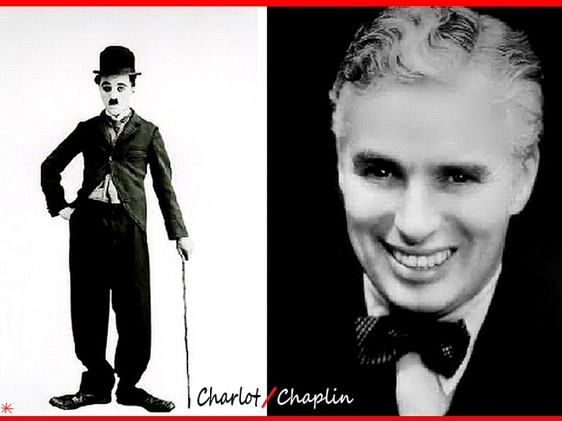 wallpaper Charlie Chaplin telechargement gratuit
