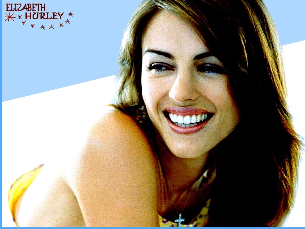 wallpaper Elizabeth Hurley telechargement gratuit