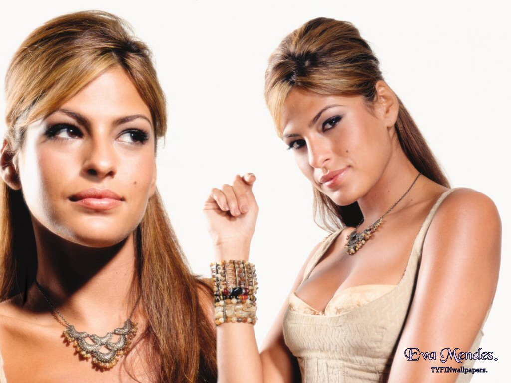wallpaper Eva Mendes telechargement gratuit