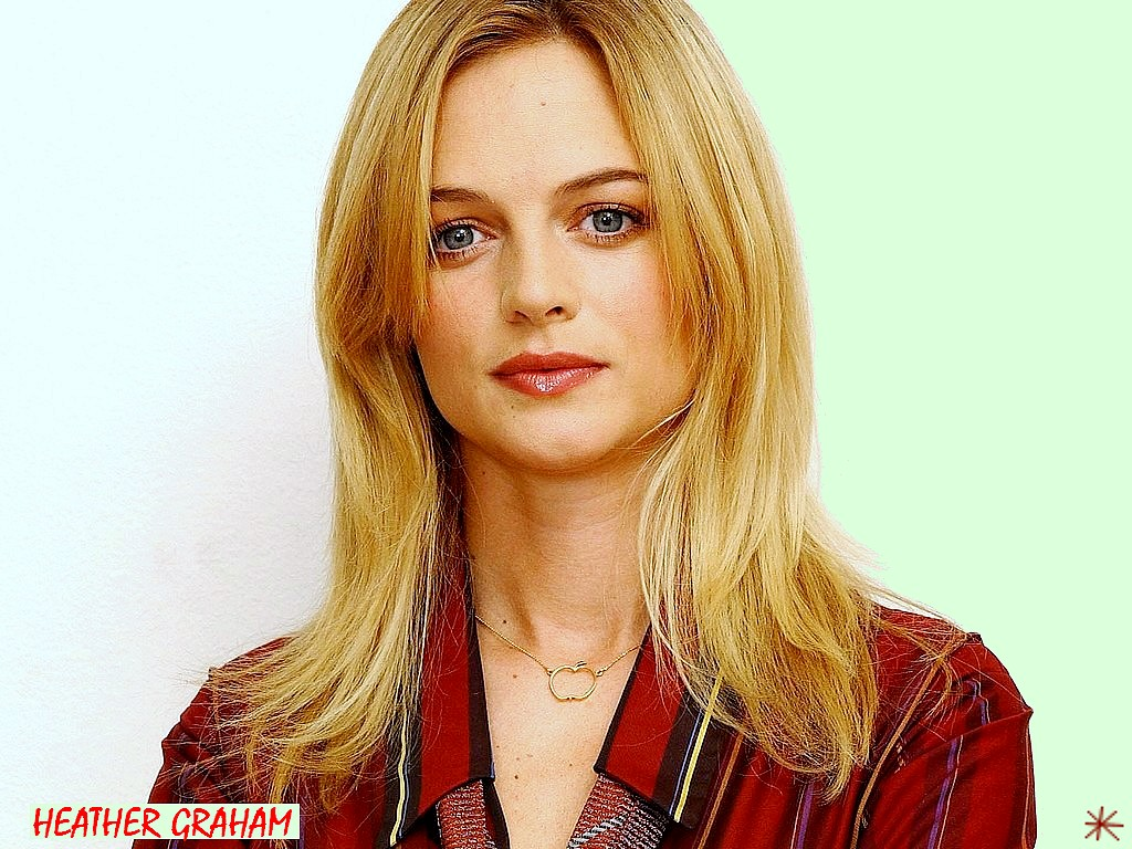wallpaper Heather Graham  telechargement gratuit