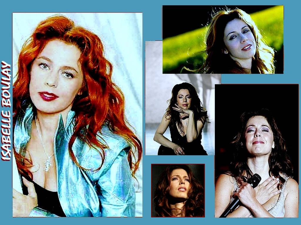 wallpaper Isabelle Boulay telechargement gratuit