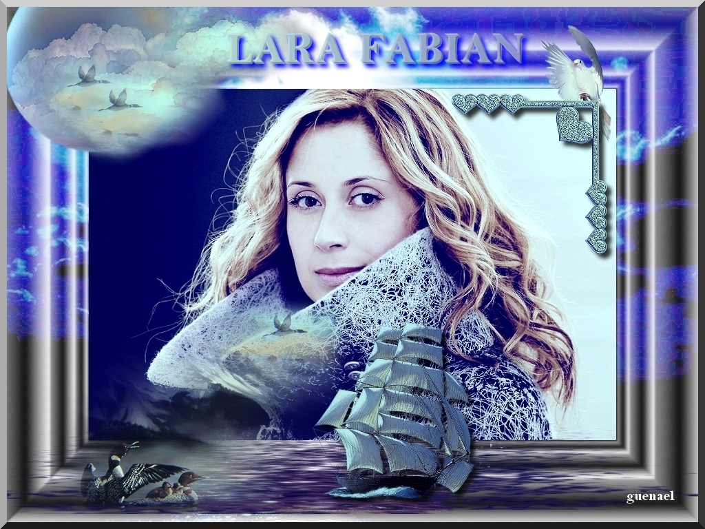 wallpaper Lara Fabian telechargement gratuit
