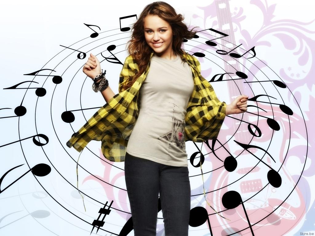 wallpaper Miley Cyrus telechargement gratuit